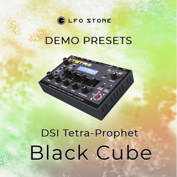 "DSI Tetra Prophet – ""Black Cube"" Soundset Demo"