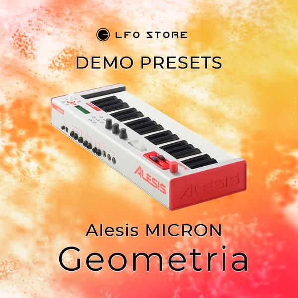 """Alesis Micron – """"Geometria"""" Soundset Demo"""