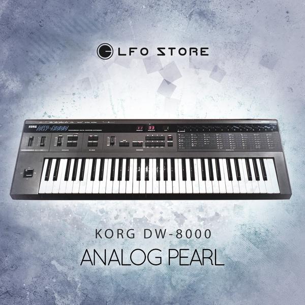 "KORG DW-8000 | ""Analog Pearl"" 64 Custom Presets"