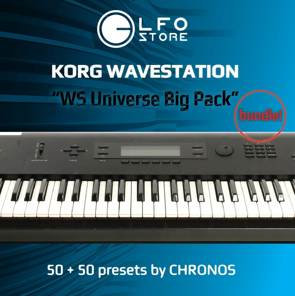 "Korg Wavestation ""WS Universe"" Bundle 100 Presets"