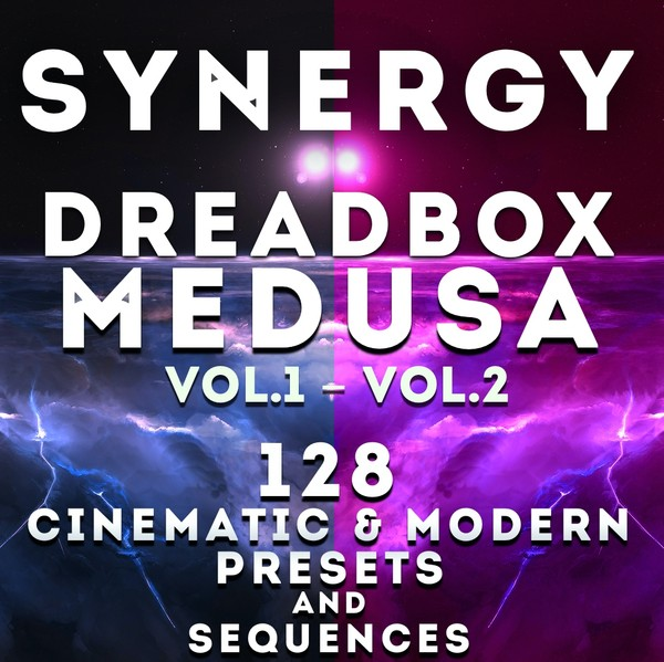 Dreadbox Medusa - Synergy Bundle 128 presets and 64 seqs