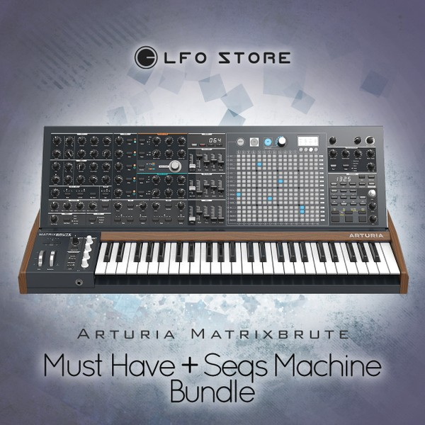 Arturia Matrixbrute - 'Must Have' & 'Seqs Machine' bundle (128 patches total) by Anton Anru
