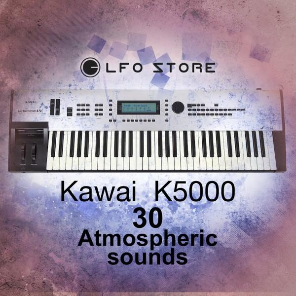 Kawai K5000S/K5000R - 30 Atmospheric Sounds