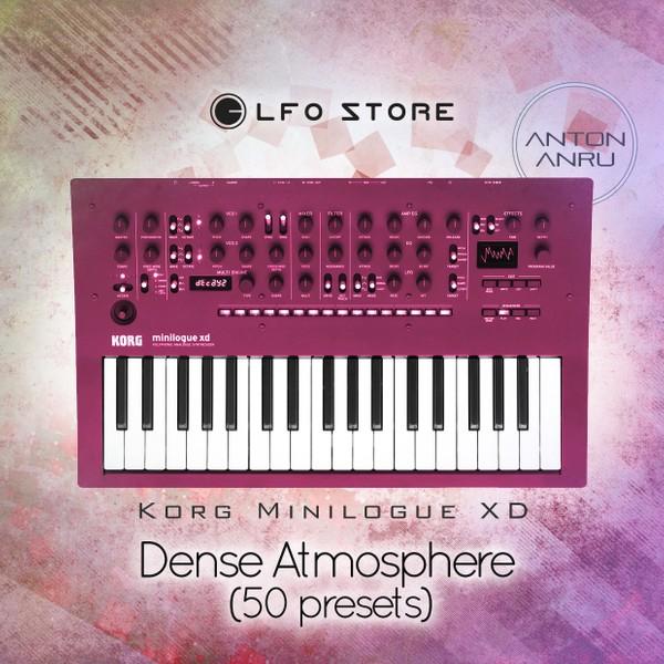 Korg Minilogue XD - Dense Atmosphere (50 presets) by Anton Anru