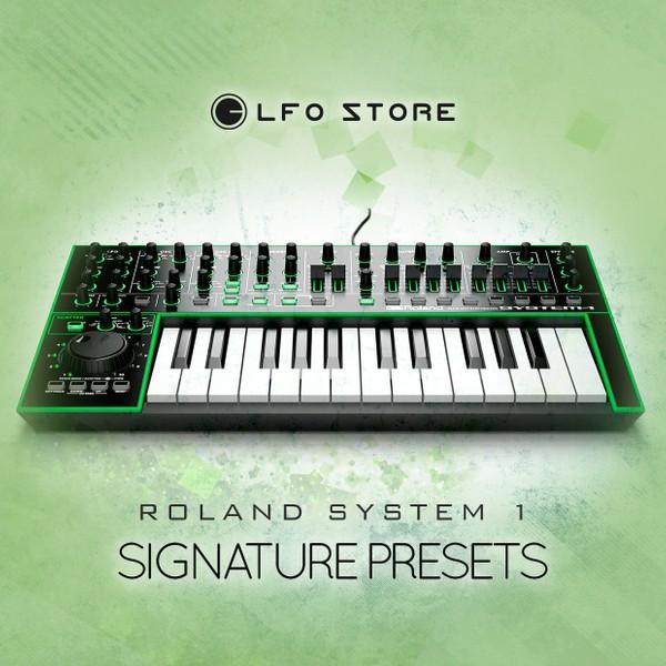 Roland SYSTEM-1 Plug-In 64 signature presets