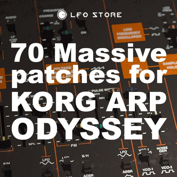 Korg Arp Odyssey - 70 Massive Patches