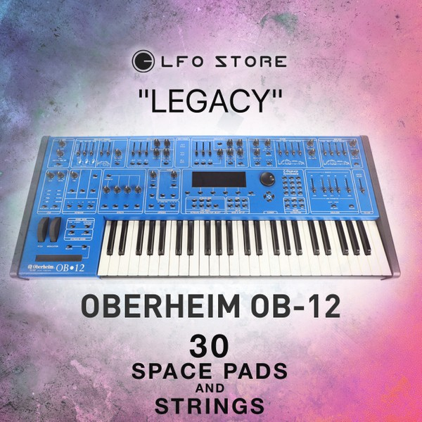 "Oberheim OB-12 ""Legacy"" Soundset for The Blue Machine"