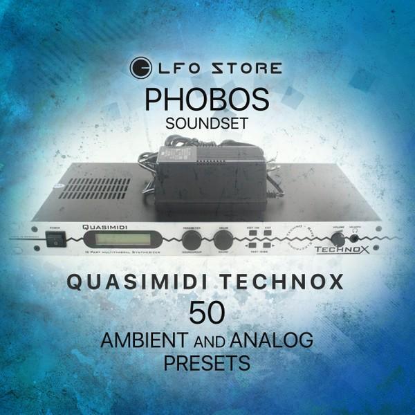 "Quasimidi TechnoX - ""Phobos"" Soundset 50 Atmospheric Performances"