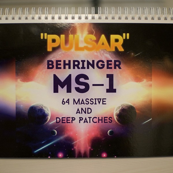 Behringer MS-1 - Physical Booklet