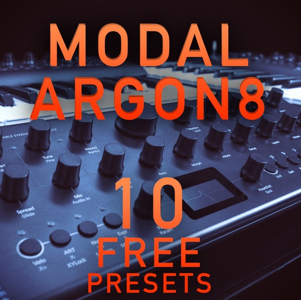 Modal Argon8 - 10 Free presets from