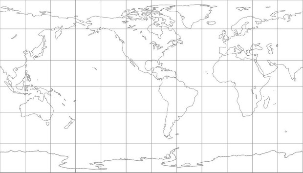 World Map-Patterson Projection