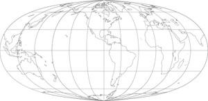 World Map-Kavrayskiy V Projection