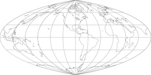 World Map-Putnins P1 Projection