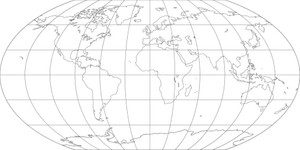 World Map-Wagner VI Projection