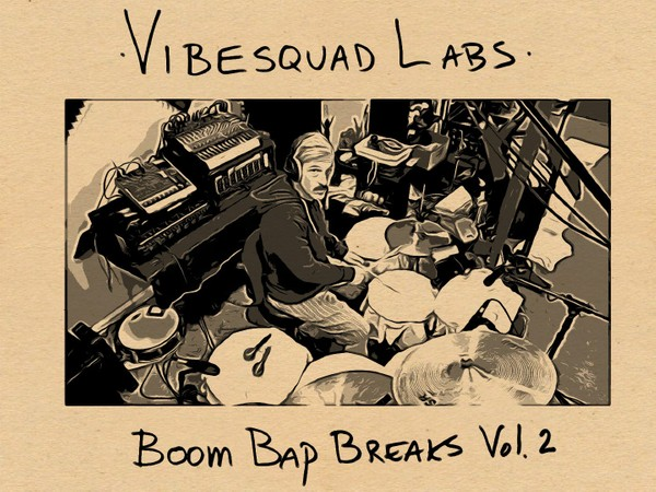 BOOM BAP BREAKS VOL.2