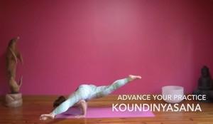 Advance Your Practice - Koundinyasana - My Health Yoga