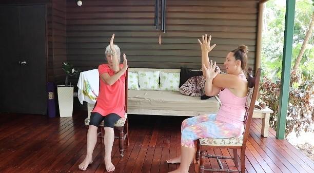 Elderly Yoga - with Carrie-Anne Fields - 40min