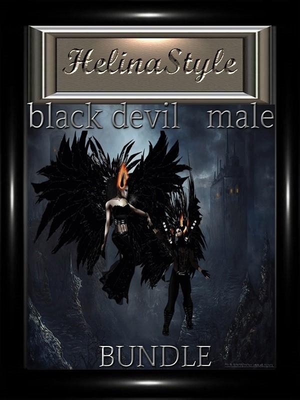 BLACK DEVIL MALE ( BUNDLE)