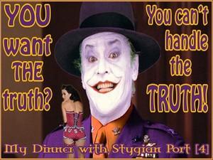 My Dinner with Stygian Port [4] (Oct 2009)