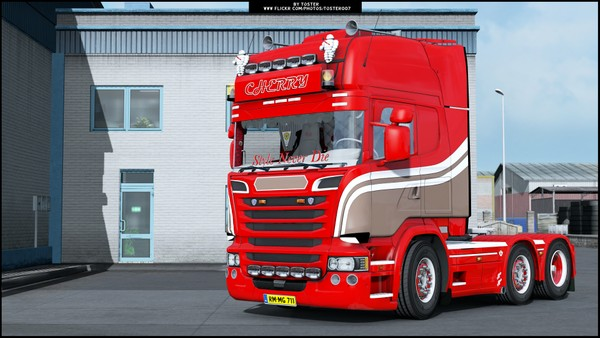 Scania V8 Cherry ETS 2