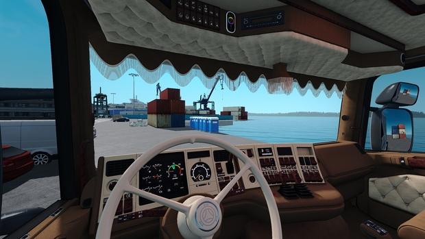 Scania RJL Holland / Danich / VABIS NEW Interior ETS 2
