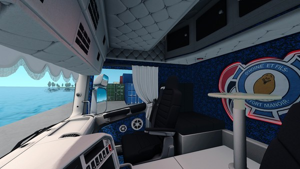 Scania RJL Holland / Danich / DHOINE Interior ETS 2
