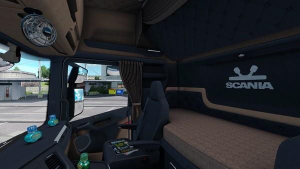 Interior Scania S Next Gen Holland ETS 2