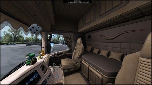 Interior Scania S/R Next Gen Animal ETS 2