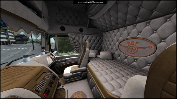 Interior DAF XF105 NEW ETS 2 #2