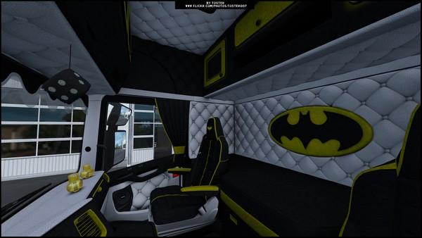 Interior Scania S Next Gen BATMAN ETS 2