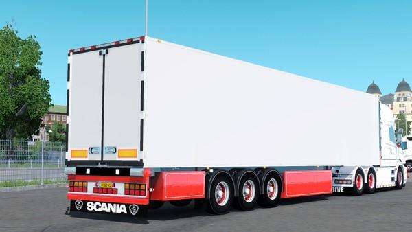 Holland Trailer Custom ETS 2