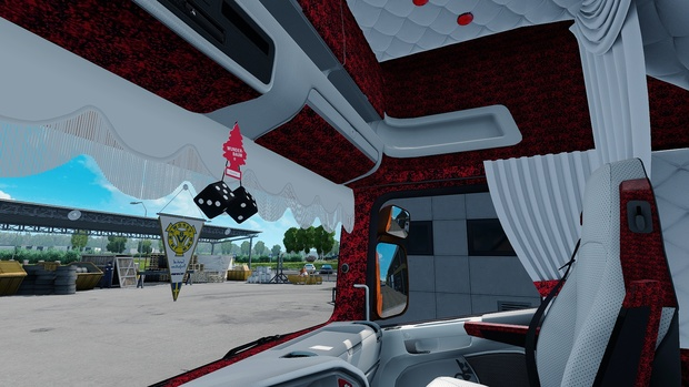 Scania RJL RED Custom / Holland / Danish Interior ETS 2