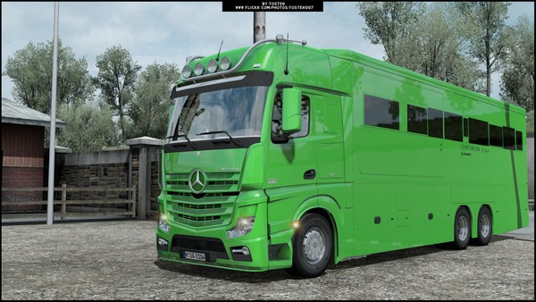 Mercedes Actros MP4 Motorhome ETS 2
