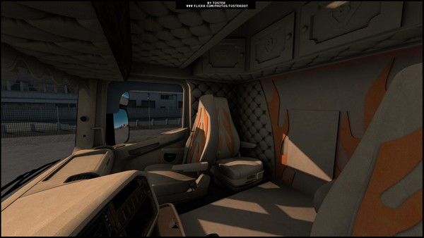 Interior Scania RJL Andreas Schubert ETS 2