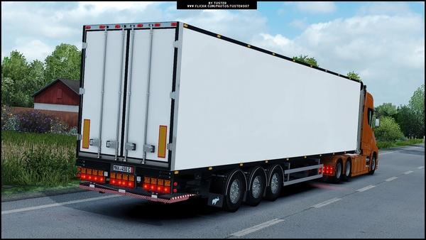 Custom Schmitz  Holland Trailer ETS 2