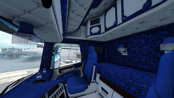 Scania RJL Custom Danish Interior ETS 2 ˜