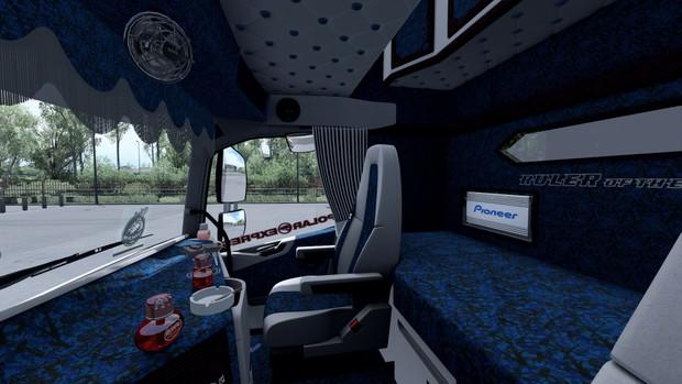 Interior Volvo FH 2012 HOLLAND ETS 2