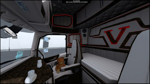 Interior Volvo FH 16 Holland ETS 2