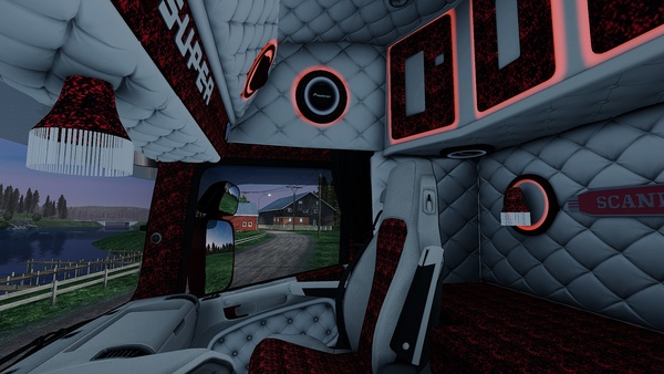 Scania RJL Holland / Danich / VABIS Interior ETS 2 ½
