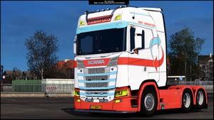 Scania S MEGA MOD ETS 2