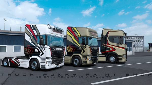 Combo CHIMERA Skin Pack Scania S Next Gen & RJL ETS 2