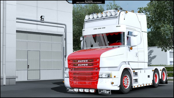 Scania T V8 Holland Style ETS 2