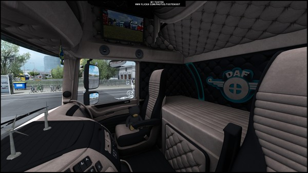 Interior DAF Euro 6 Holland Biege ETS 2
