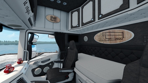 Interior for Scania S Next Gen by SCS ETS 2