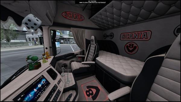 Interior Scania S/R Next Gen V8 ETS 2