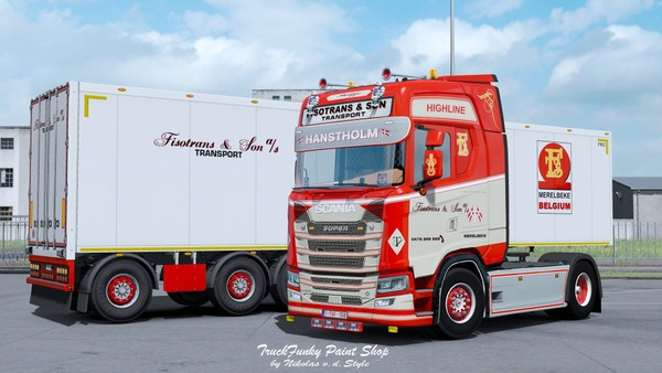 Combo Fisotrans & Son Skin Scania S Next ETS 2