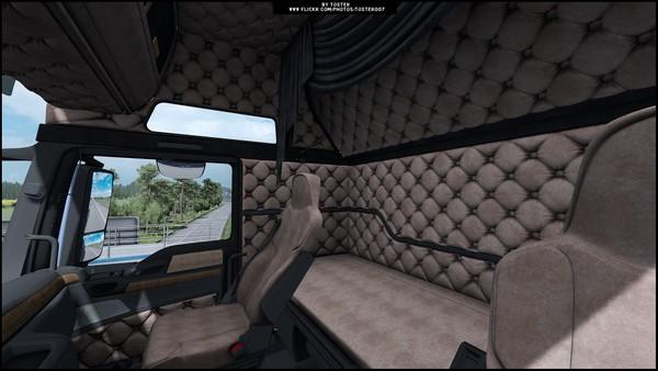 Interior MAN Euro 6 Holland ETS 2