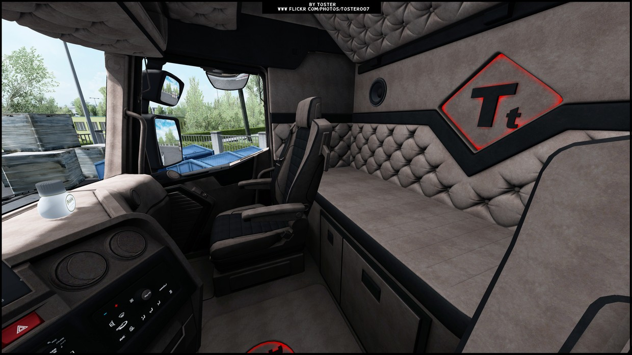 Interior Renault T NEW ETS 2 #1 - TosteR007 Custom
