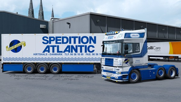 DAF XF105 SPEDITION ATLANTIC