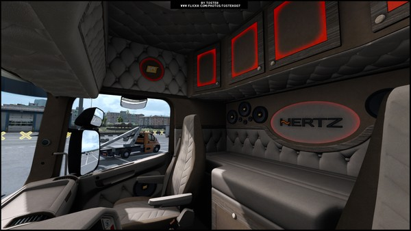 Interior Scania by RJL HERTZ ETS 2